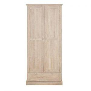 Șifonier cu 2 uși și sertar cu model de stejar Støraa Bruce