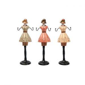 Set 3 decorațiuni cu figurine Antic Line Ladies