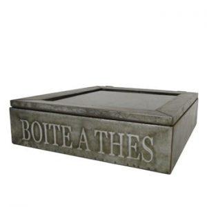 Cutie metalică pentru ceai Antic Line