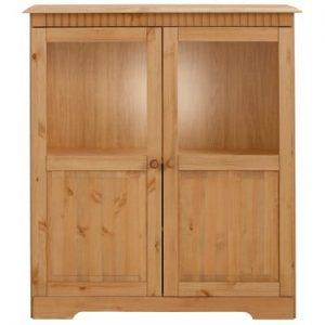 Dulap cu 2 uși, din lemn masiv de pin Støraa Caroline