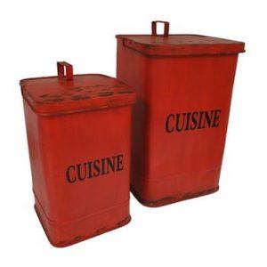 Set 2 coșuri de gunoi Antic Line Cuisine