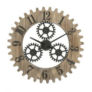 Ceas de perete Mauro Ferretti Ingranaggio Plus, ø60cm