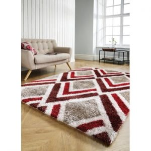 Covor Flair Rugs Bijoux Red Brown, 80 x 150 cm