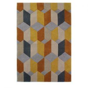 Covor Flair Rugs Infinite Scope Ochre, 80 x 150 cm