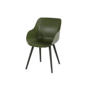 Set 2 scaune de grădină Hartman Sophie Organic Studio Chair, verde