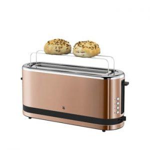 Prăjitor pâine XXL din inox WMF KITCHENMINI, alămiu