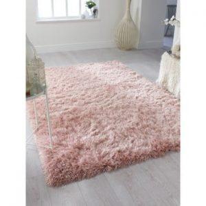 Covor Flair Rugs Dazzle Blush Pink, 80 x 150 cm