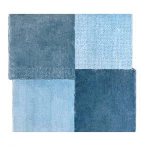 Covor EMKO Over Square, 200 x 2017 cm, albastru