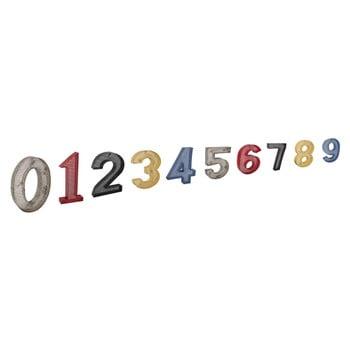 Set 10 cifre decorative Antic Line Serie De Numeros