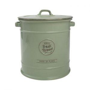 Doză ceramică pentru pâine T&G Woodware Pride of Place, verde
