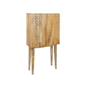 Masă tip consolă din lemn de mango Santiago Pons Retros
