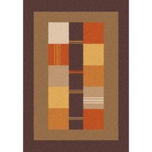 Covor Universal Boras Donno, 133 x 190 cm, maro-portocaliu