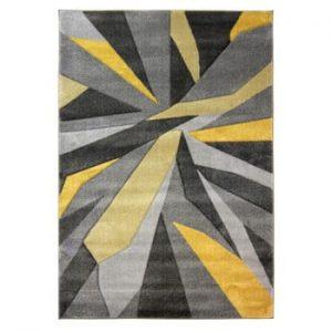 Covor Flair Rugs Shatter Ochre, 80 x 150 cm, galben - gri