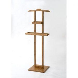 Suport din bambus pentru îmbrăcăminte Compactor Range Wood