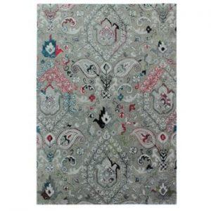 Covor țesut manual Flair Rugs Persian Fusion, 160 x 230 cm, gri