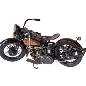 Motocicletă decorativă Antic Line Black Moto