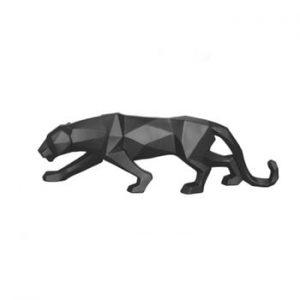 Statuetă PT LIVING Origami Panther, negru mat
