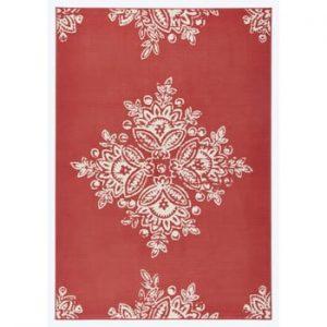 Covor Hanse Home Gloria Blossom. 160 x 230 cm, roșu