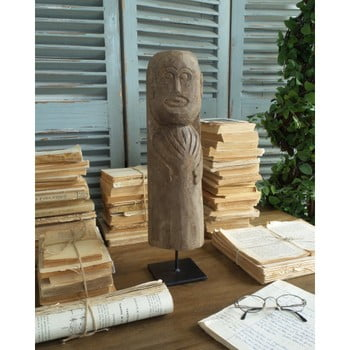 Decorațiune din lemn Orchidea Milano Tribal