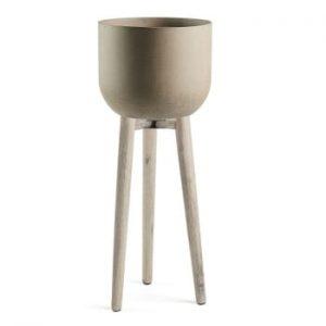Ghiveci La Forma Stahl, 97 cm h, gri