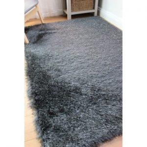 Covor Flair Rugs Dazzle Charcoal, 80 x 150 cm, gri închis