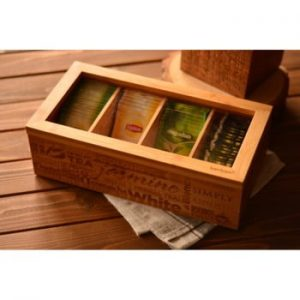 Cutie depozitare ceai Bambum Tea&Coffee