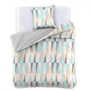 Lenjerie de pat din bumbac satinat DecoKing Pastel Love, 200 x 220 cm
