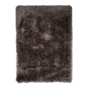 Covor Flair Rugs Pearl, 80 x 150 cm, gri închis
