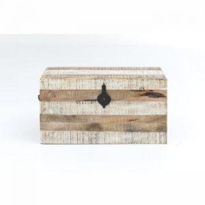 Cutie depozitare din lemn de mango WOOX LIVING India Traditional