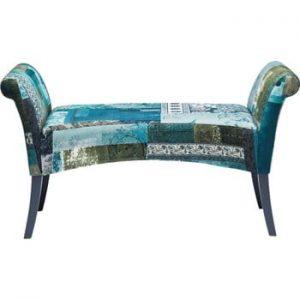 Banchetă Kare Design Motley, albastru