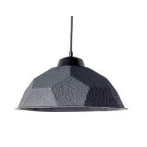 Lustră Design Twist Mosen, abajur din hârtie reciclată, negru