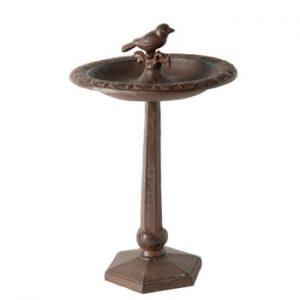 Suport cu picior pentru hrănit păsări Antic Line ANtiques