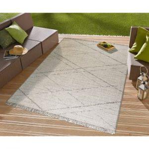 Covor potrivit pentru exterior Floorita Les Gipsy Cream, 130 x 190 cm