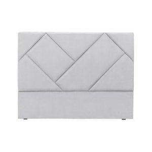 Tăblie de pat HARPER MAISON Annika, 140 x 120 cm, gri deschis