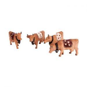 Set 4 figurine Antic Line Cow