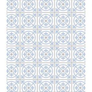 Protecție din sticlă pentru peretele din spatele aragazului Wenko Tiles, 60 x 70 cm