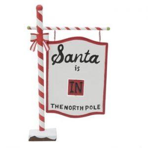 Decorațiune InArt Santa Sign