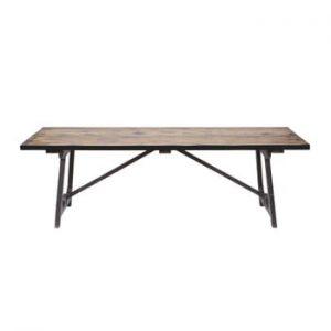Masă din lemn masiv de pin BePureHome Craft, 190 x 90 cm