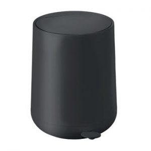 Coș de gunoi cu pedală Zone Nova, 5 l, negru