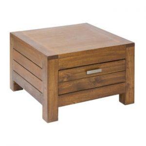 Noptieră cu sertar din lemn mindi Santiago Pons Ohio
