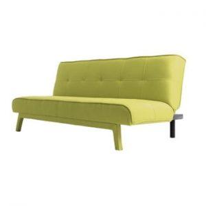 Canapea extensibilă 2 locuri Custom Form Modes, galben