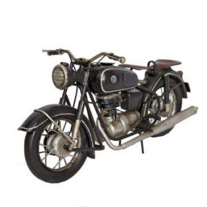 Motocicletă decorativă Antic Line Noire