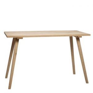 Masă din lemn de stejar Hübsch Keld, 150 x 65 cm