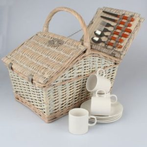 Coș picnic pentru 4 persoane Dakls Picnic