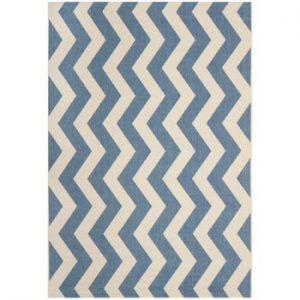Covor potrivit pentru exterior Safavieh Amalfi Blue, 289 x 200 cm