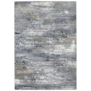 Covor Elle Decor Arty Trappes, 120 x 170 cm, gri - albastru