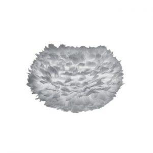 Abajur cu pene de gâscă VITA Copenhagen EOS, Ø 45 cm, gri