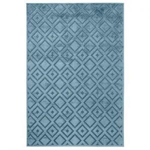 Covor Mint Rugs Shine, 120 x 170 cm, albastru