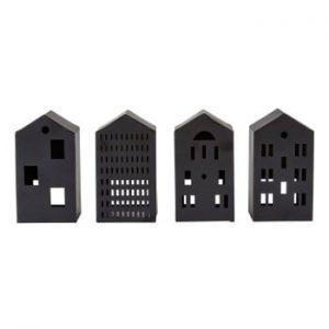 Set 4 figurine Villa Collection, negru