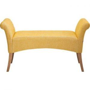 Banchetă Kare Design Motley Rhythm, galben